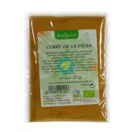 Curry de La India 25 G Bio Biospirit