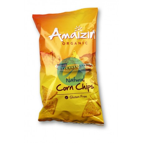 Chips de Maíz Natural Familiar 250G Bio Amaizin