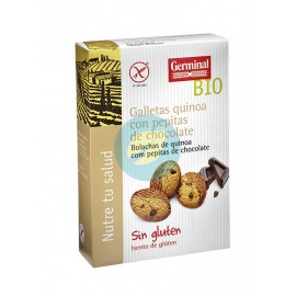 Galletas de Quinoa con Pepitas de Chocolate 250g Germinal