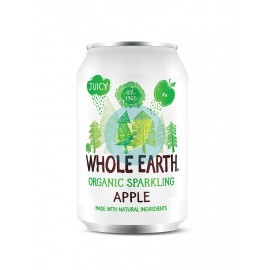 Refresco de Manzana sin Azúcar 330ml Whole Earth