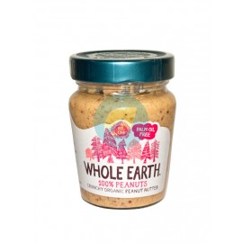 Crema de Cacahuete Crunchy 227ml Whole Earth