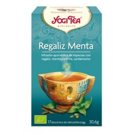 Yogi Tea Regaliz y Menta 17X1,8G Yogi Tea