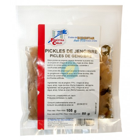Pickle de Jengibre 50g La Finestra