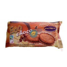 Galletas Chocolate y Avellanas Bio 80G Pasteco