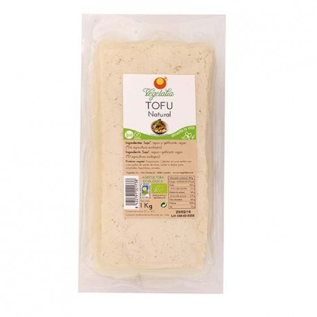 Tofu Natural a Granel 1k Vegetalia